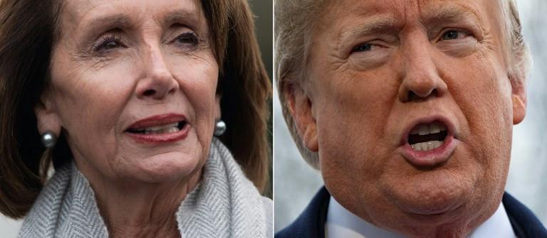 Trump grounds Democratic speaker's foreign travel