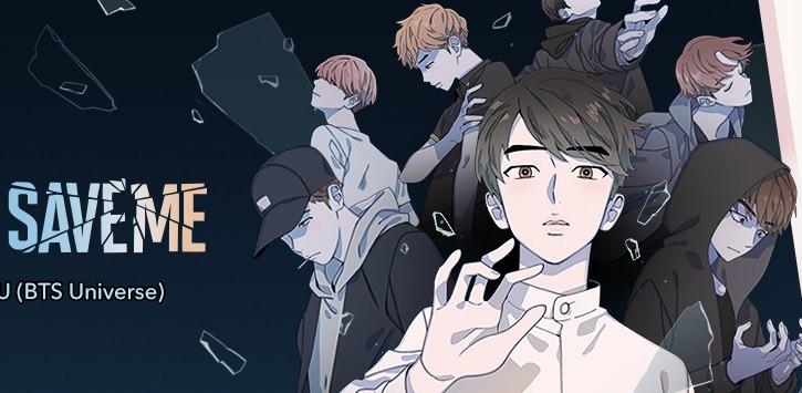 Web comic 'Save Me' delves into BTS' world view