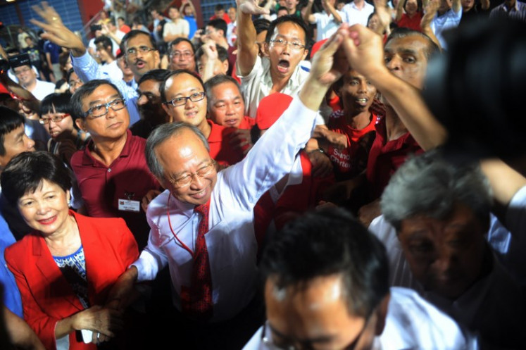 Singapore former govt stalwart seeks to form new party