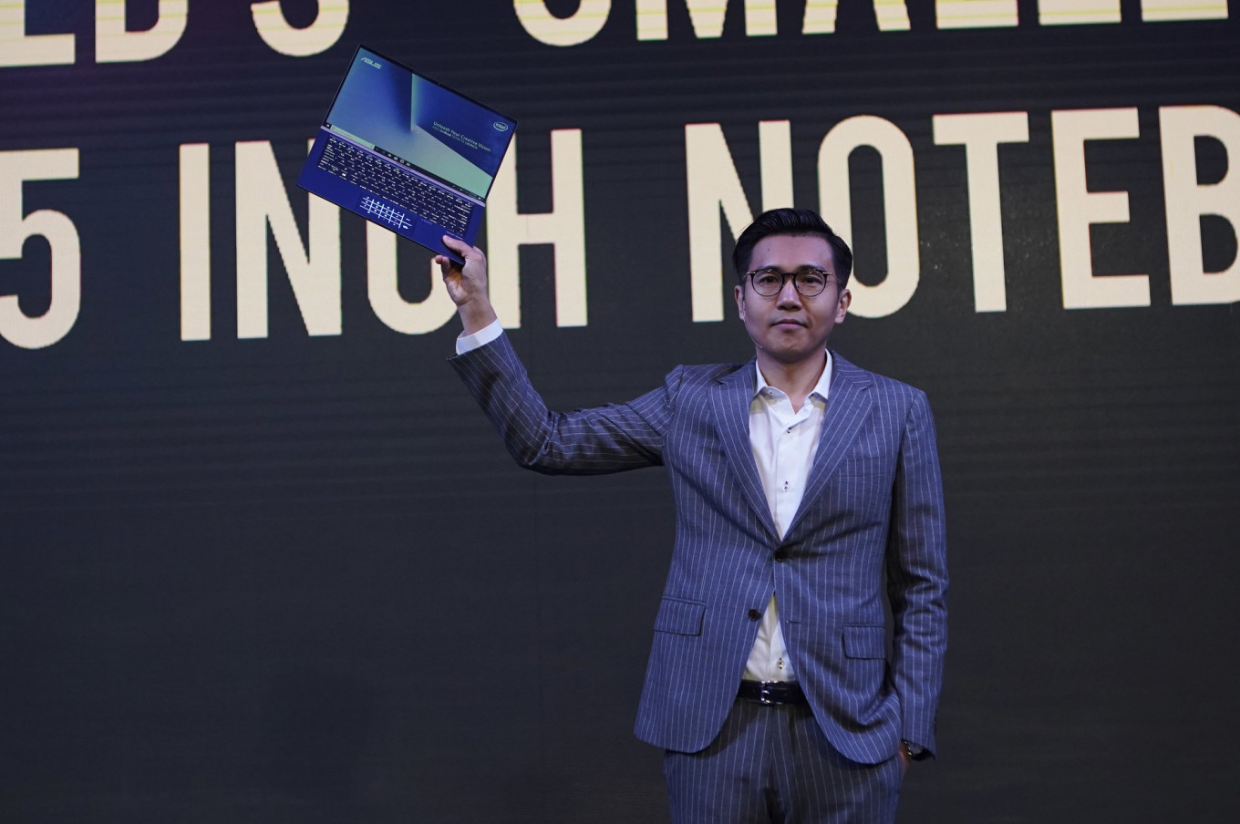 Asus introduces 'world's smallest laptops' in Jakarta