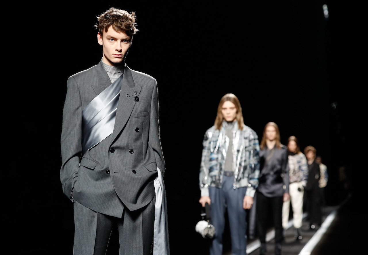 251e0da978 Dior declares men's fashion future to be suited and booted ...