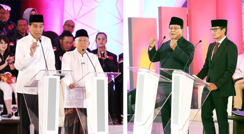 Presidential debates round 1: Jokowi vs. Prabowo