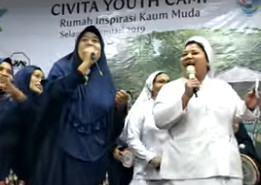 'The real face of Indonesia': Video of nuns joining 'qasidah' group goes viral