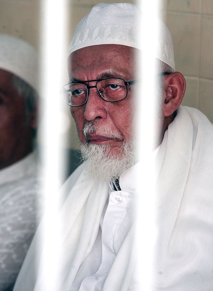 Questioning early release of Ba'asyir
