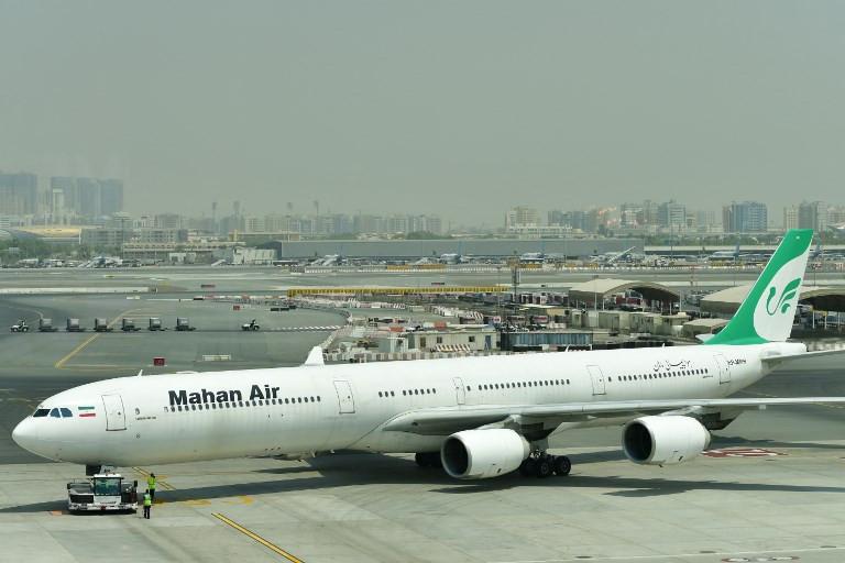 Germany bans Iranian airline, Mahan Air, from its airports