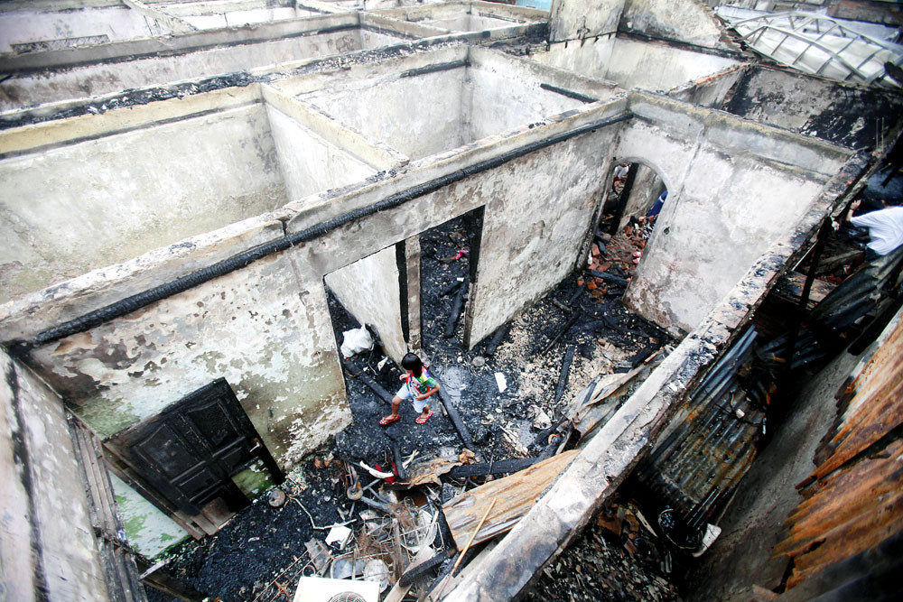 Two killed in North Jakarta fire