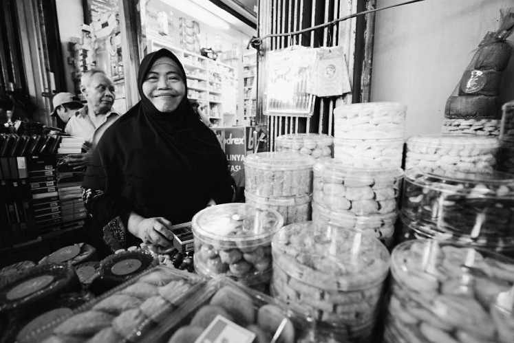 With no husband and two children to take care of, Yanti is grateful to own a long-running business in Glodok, however small it may seem.