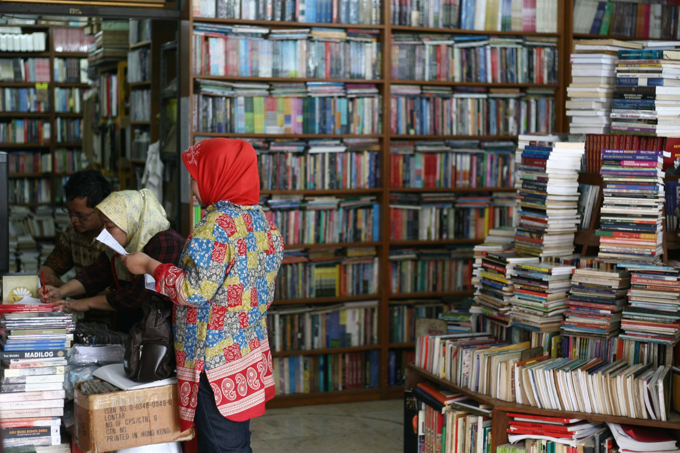 TIM's signature bookstore to soon become a memory