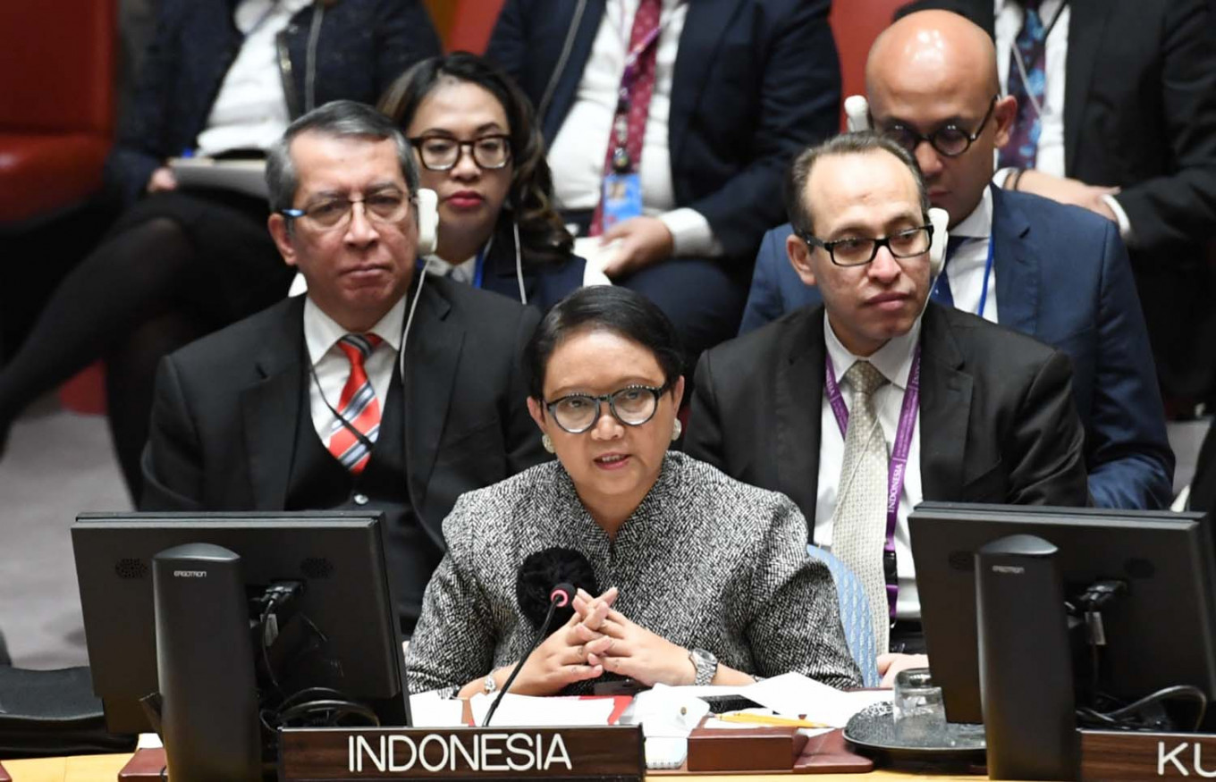 Indonesia committed to greater peacekeeping contribution: FM Retno