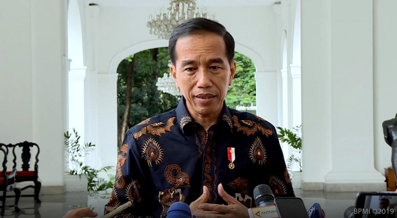 Ba'asyir's parole: I cannot interfere with the law, says Jokowi