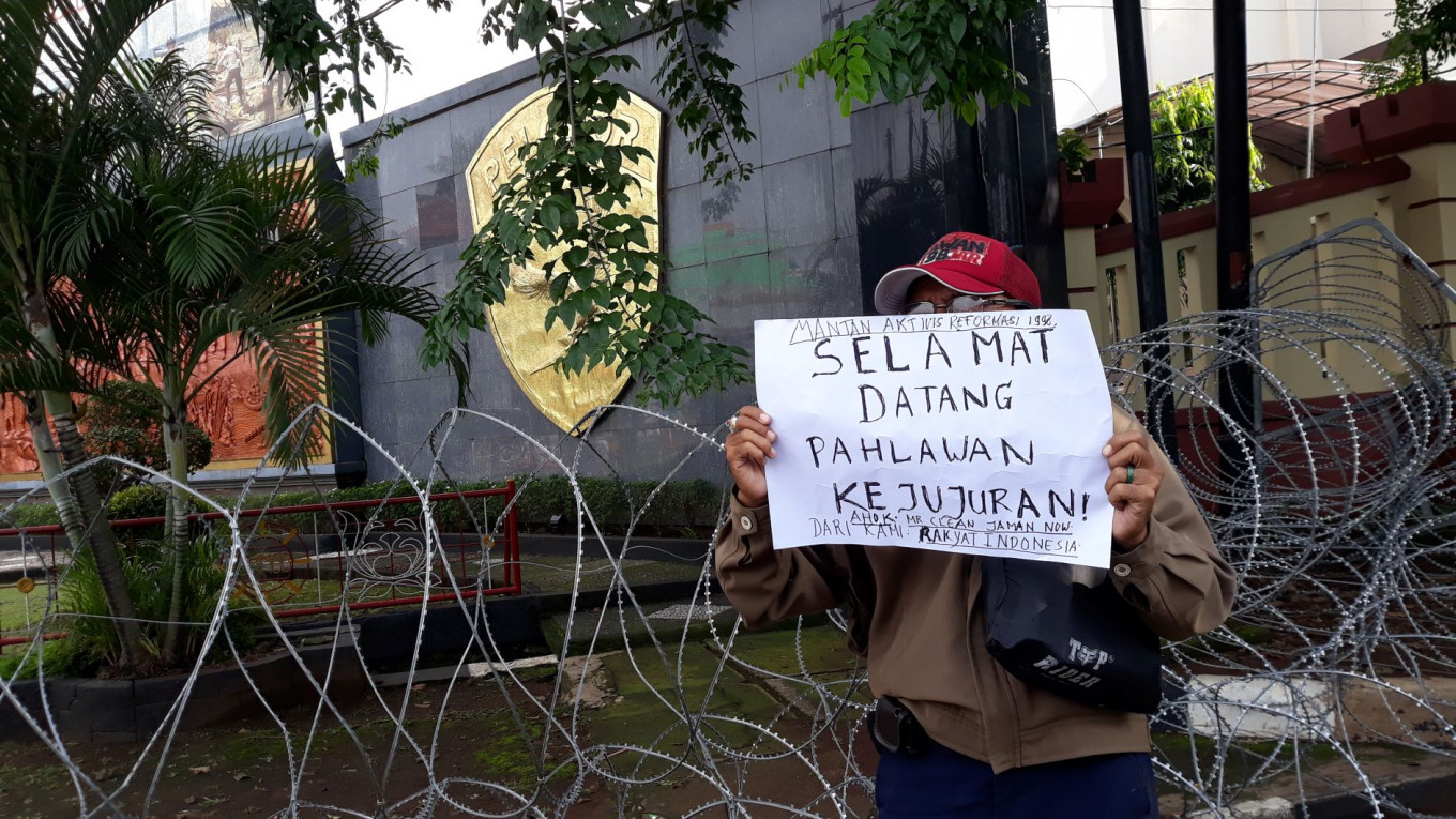 Security, supporters ready for Ahok's release