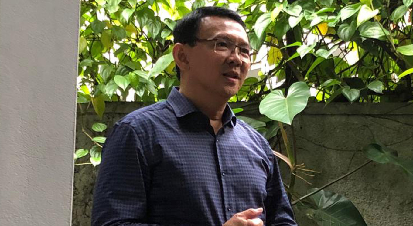 Ahok believes his political career 'is over'