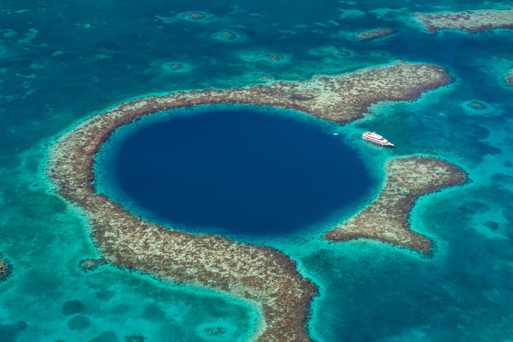 Belize's Great Blue Hole reveals its dirty, little truth