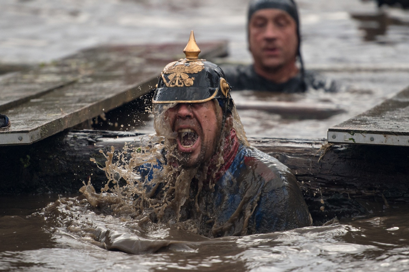 'Cold, hellish, terrifying' -- tough guys go for it in UK comp