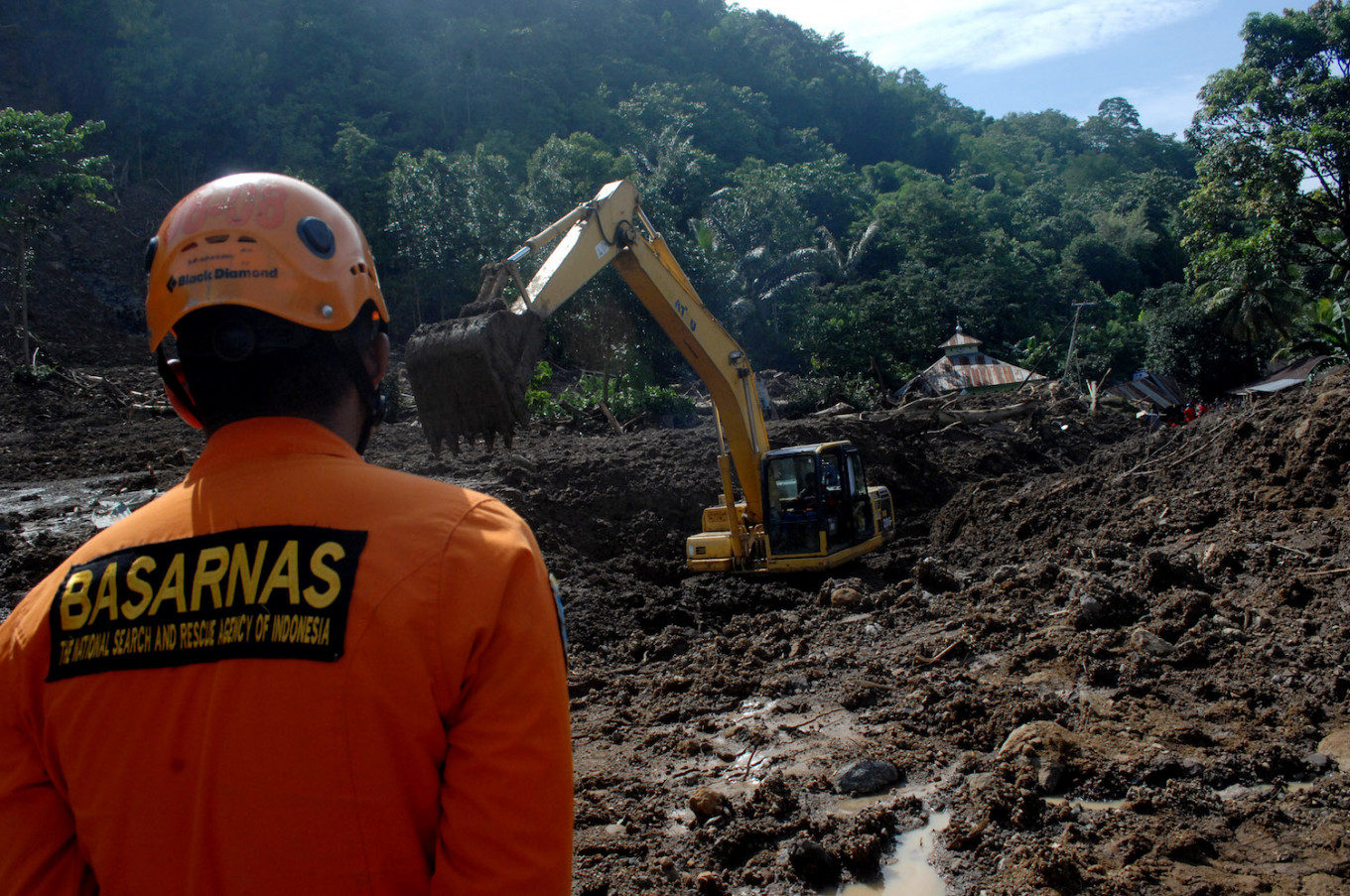 Landslide buries family house in Bali, two dead