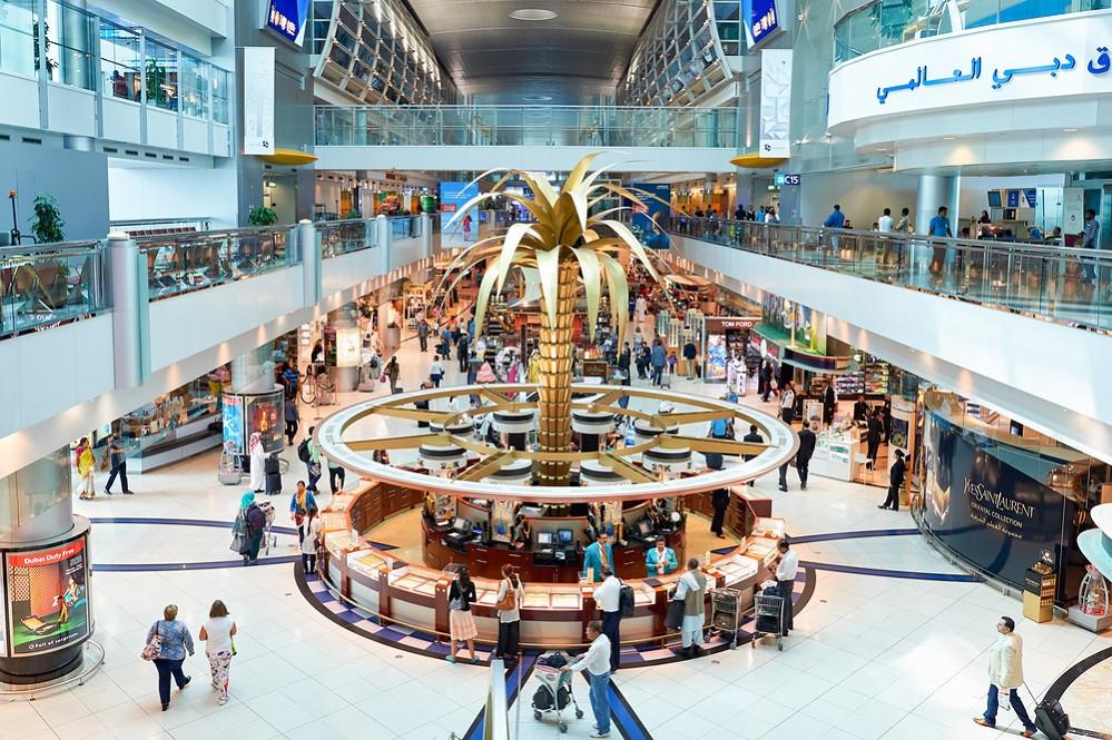 Flughafen Dubai Ankünfte