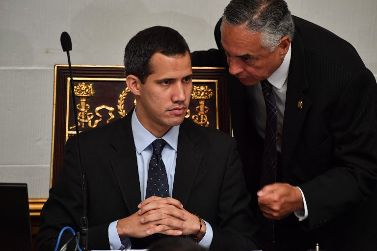 Venezuela bars self-declared president Guaido from leaving country
