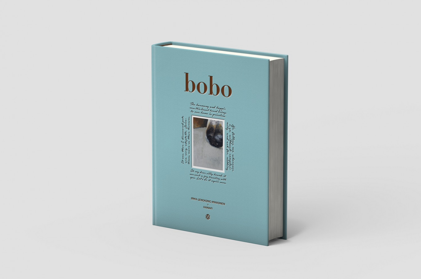 Published by Afterhours Books, 'Bobo: The Traveling Hound' comprises travel stories as well as artworks by abstract artist Hanafi.