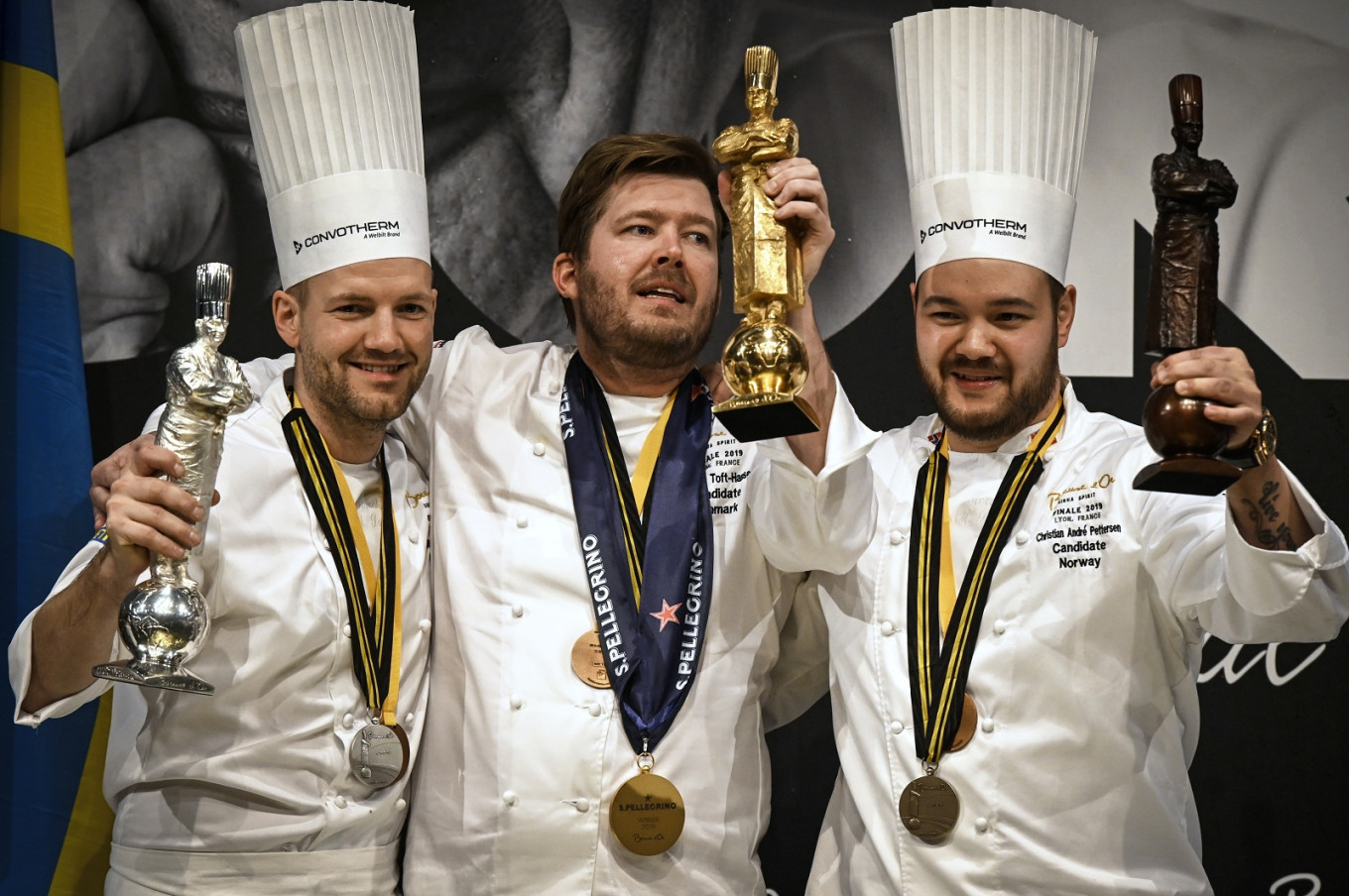 Nordic trio take Bocuse d'Or gastro plaudits