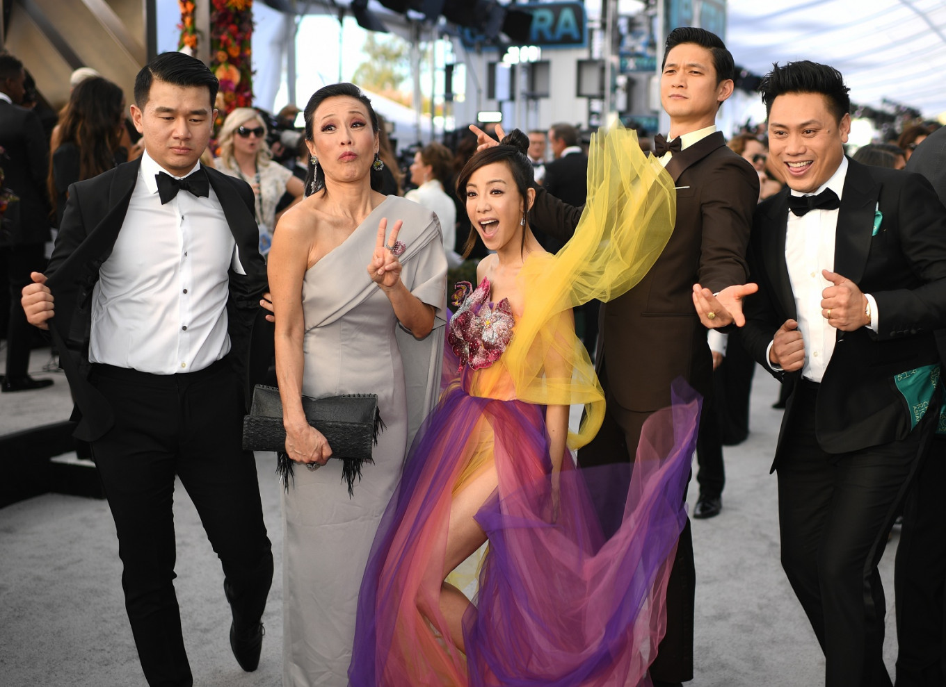 'Crazy Rich Asians' actors slam 'People' for identity mix-up