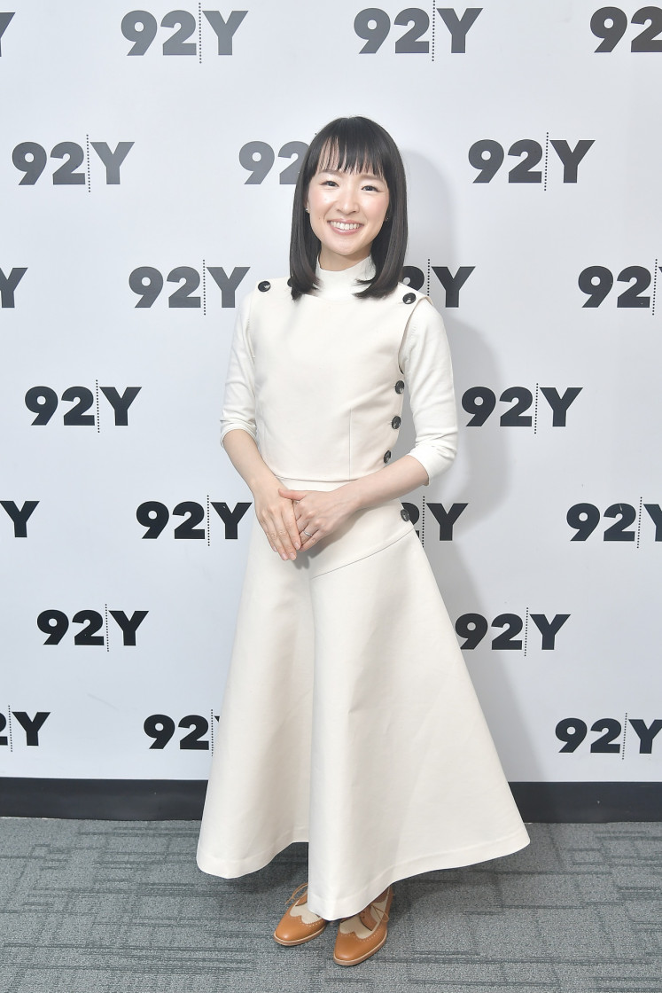 Even Marie Kondo doesn't stress about mess all the time