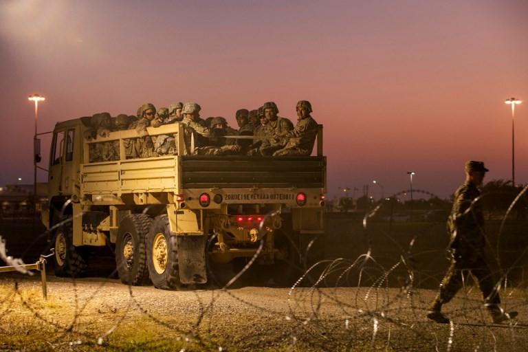 US sends 3,750 more troops to Mexico border: Pentagon