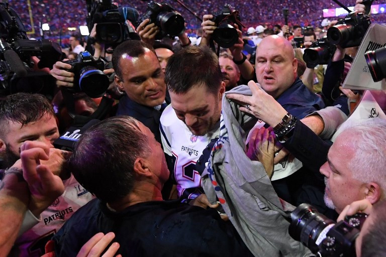 Brady wins sixth Super Bowl as Patriots out-muscle Rams