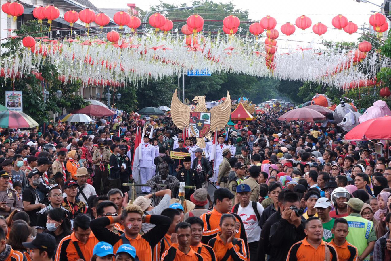 Surakarta gears up for Imlek with Grebeg Sudiro parade