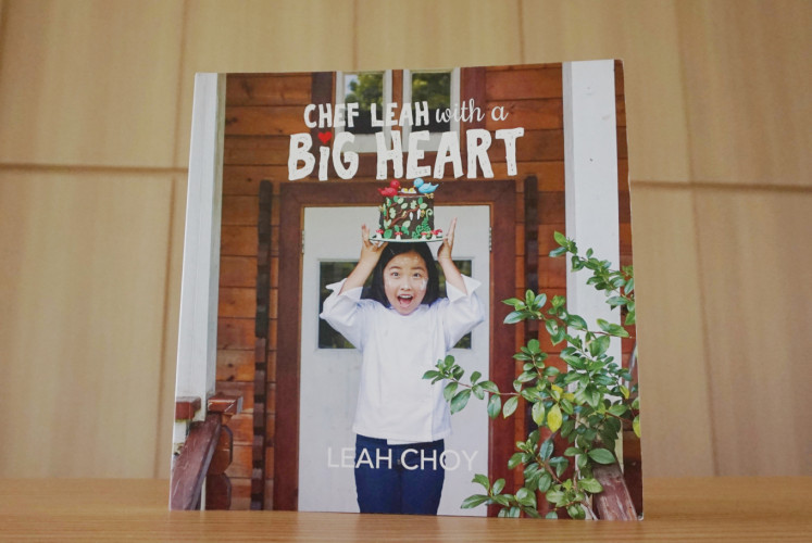 'Chef Leah with a Big Heart' can be purchased online.