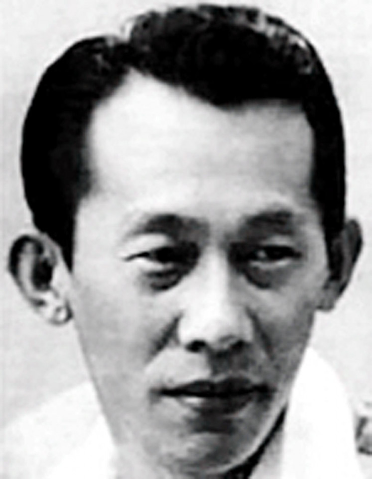 Goei Kwat Siong, the creator of  Si A Piao