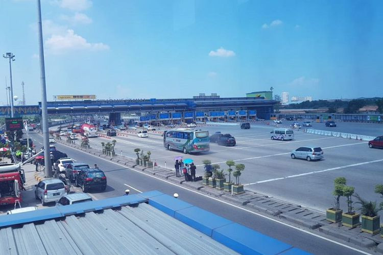 Cikarang tollgate to be relocated before Idul Fitri