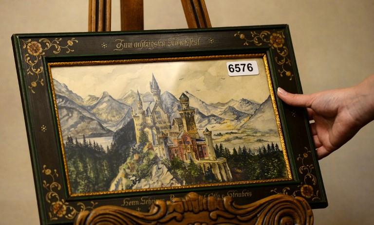Artworks attributed to Hitler to be auctioned in Germany