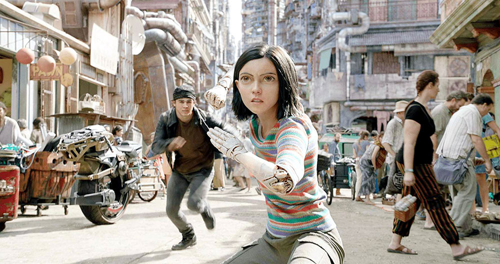'We're happy with it,' say makers of big budget 'Alita: Battle Angel'