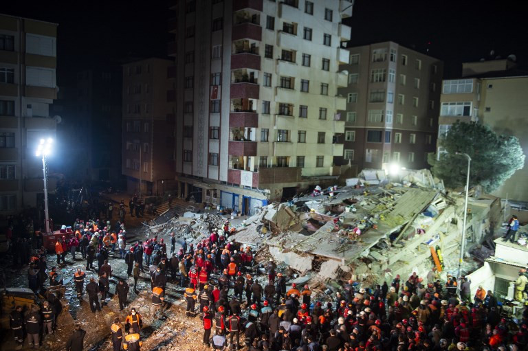 Death toll in Istanbul building collapse now 15