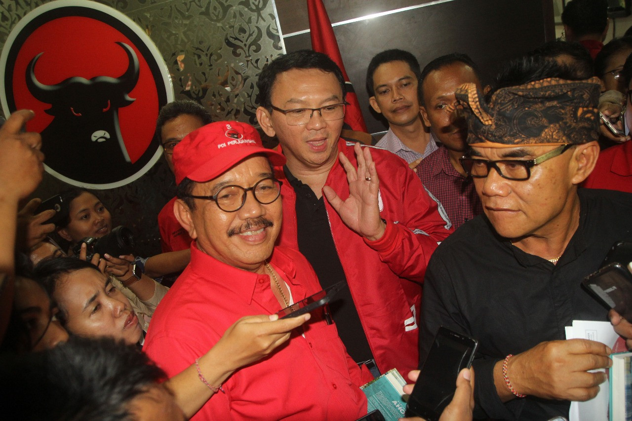 'I have always been a sympathizer': Ahok joins PDI-P