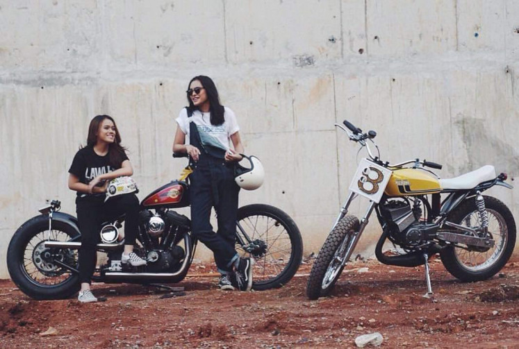 Youthful energy: Lawless Jakarta has captured the attention of young riders with its innovative custom garage, record and clothing shop, burger bar and tattoo parlor.