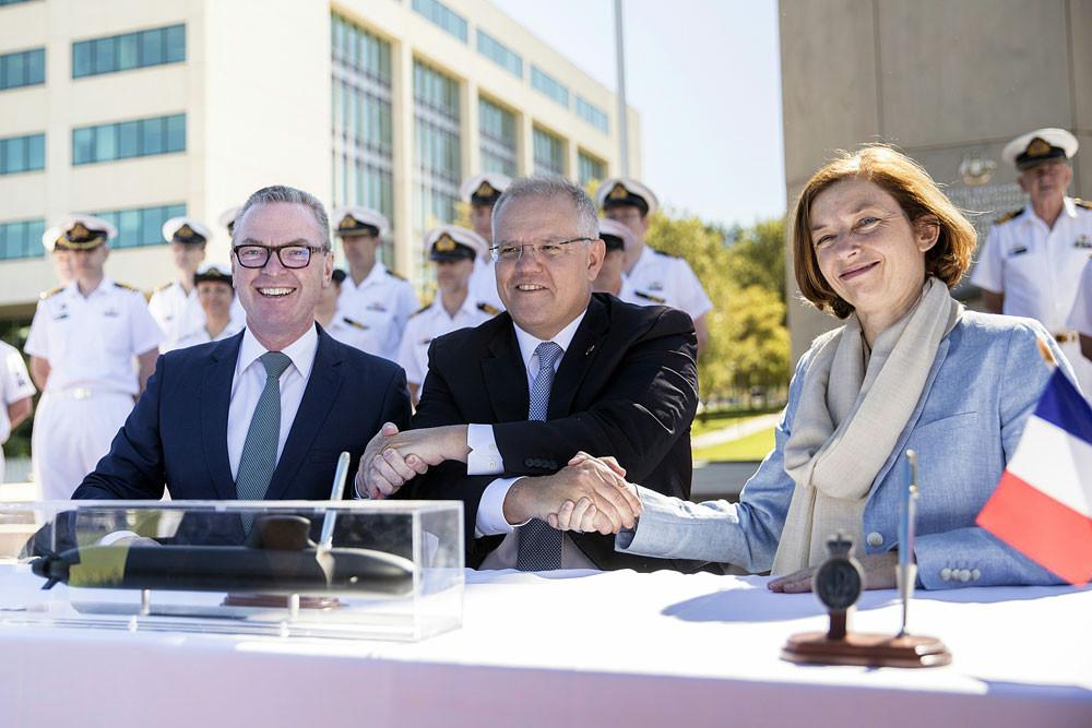 Australia stakes maritime future in Indo-Pacific region