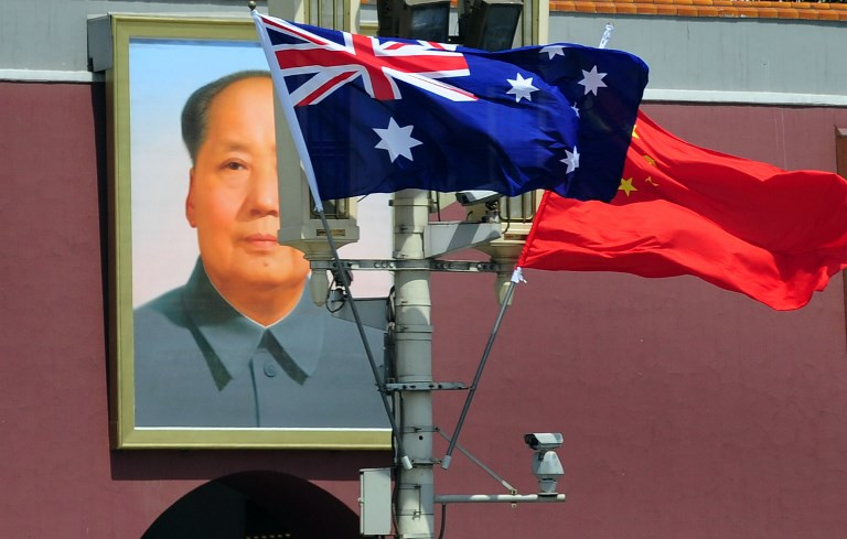 Banned Chinese billionaire calls Australia 'a giant baby'