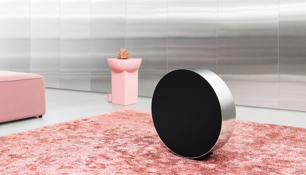 Bang & Olufsen's Beosound Edge reimagines home audio experience