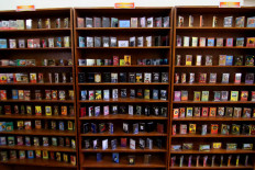 Reel repository: A collection of cassette tapes at the Lokananta Museum. JP/Maksum Nur Fauzan