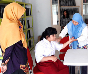 South Jakarta haven for visually impaired