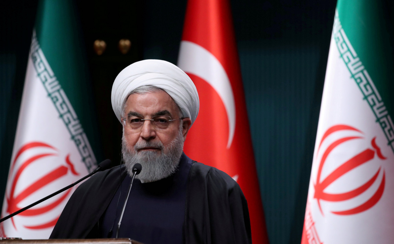 Iran's Rouhani blames US, Israel for attack on elite Guards: TV