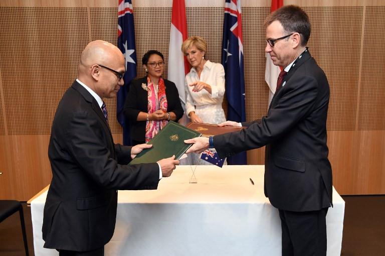 Australia targets March signing of stalled Indonesia trade deal