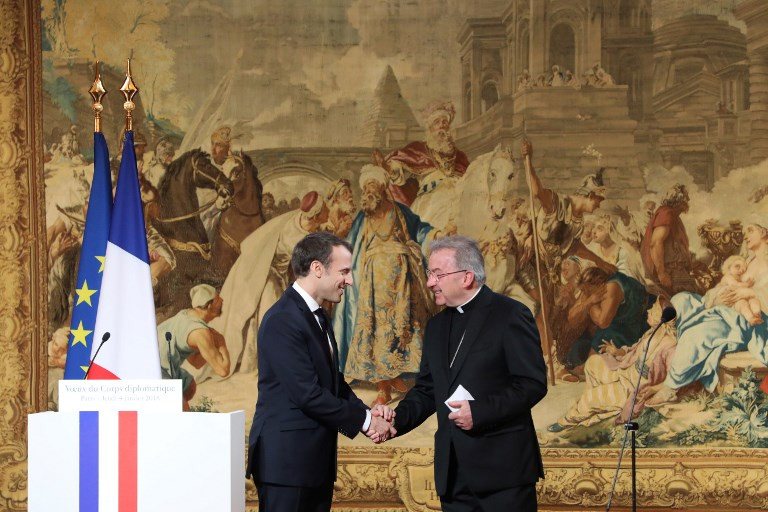 France urges Vatican to act after envoy charged with sex abuse