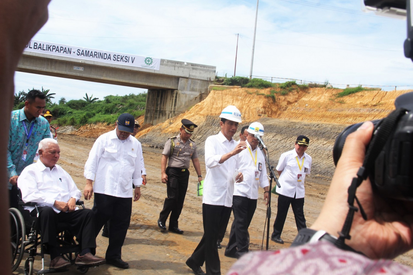 Kalimantan's first toll road to be opened in August
