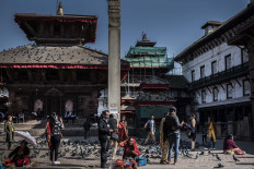 Durbar Square after being renovated after the 2015 earthquake. JP/Rosa Panggabean