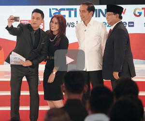 Presidential debates round 2: Jokowi vs. Prabowo