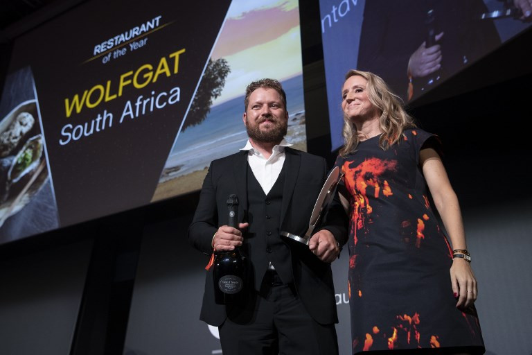 Tiny South Africa beach restaurant crowned best in world