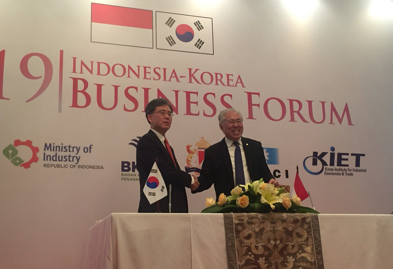 Indonesia, South Korea relaunch trade talks