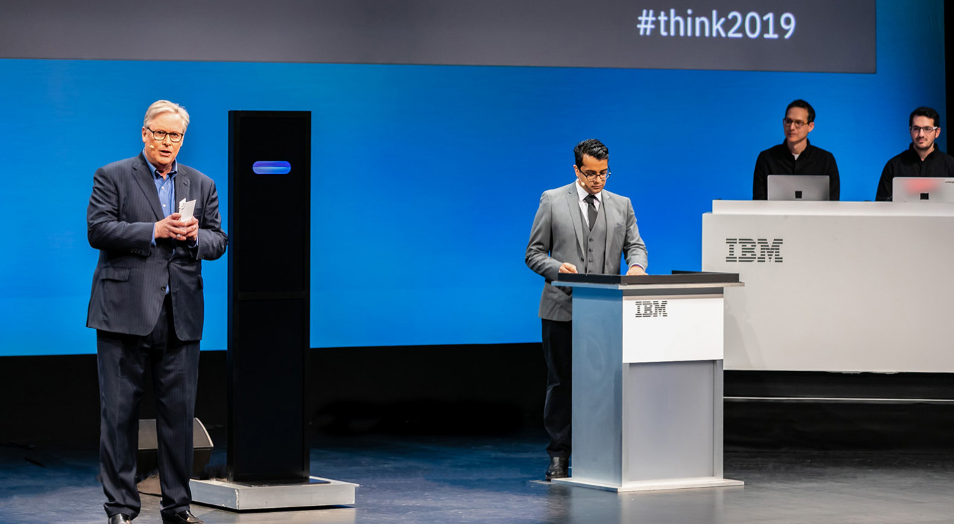 IBM says AI debate loss is still a win